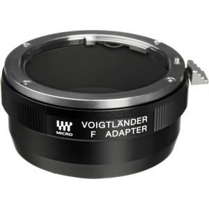Voigtlander F - Adaptor obiective montura Nikon F pentru aparate mIcro 4/3 / MFT (S.H.)0