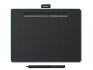 Wacom - Intuos M Bluetooth Tableta Grafica, Pistacio [0]