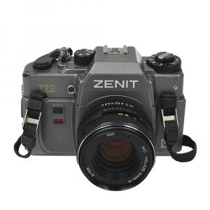Zenit 122 + obiectiv Helios 44M-4 58mm f/2 (S.H.)0