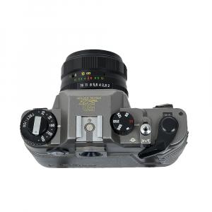 Zenit 122 + obiectiv Helios 44M-4 58mm f/2 (S.H.)4