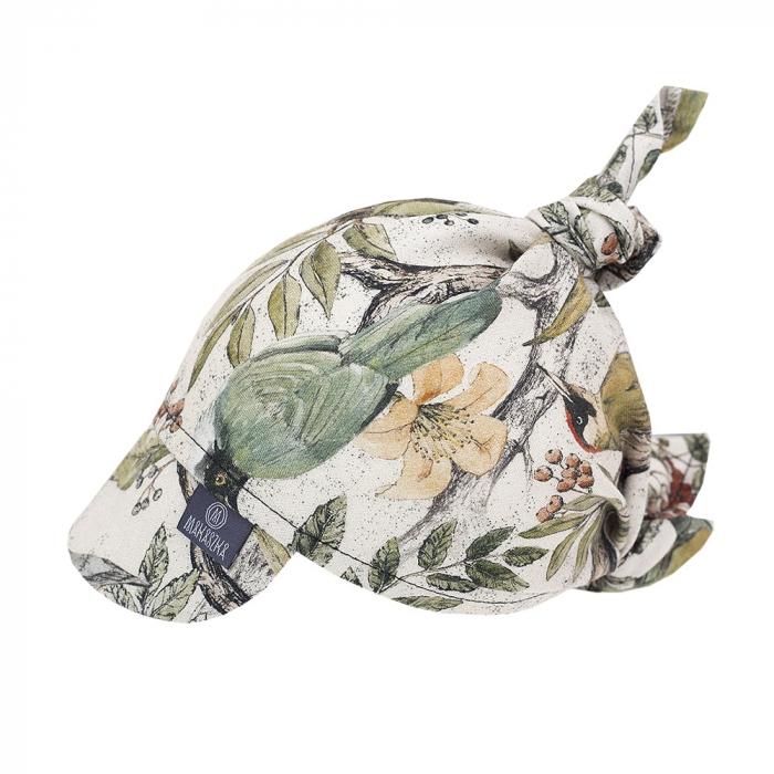 Bandana cu Cozoroc - 100% Bambus - Ornithology  MKZc03 [0]