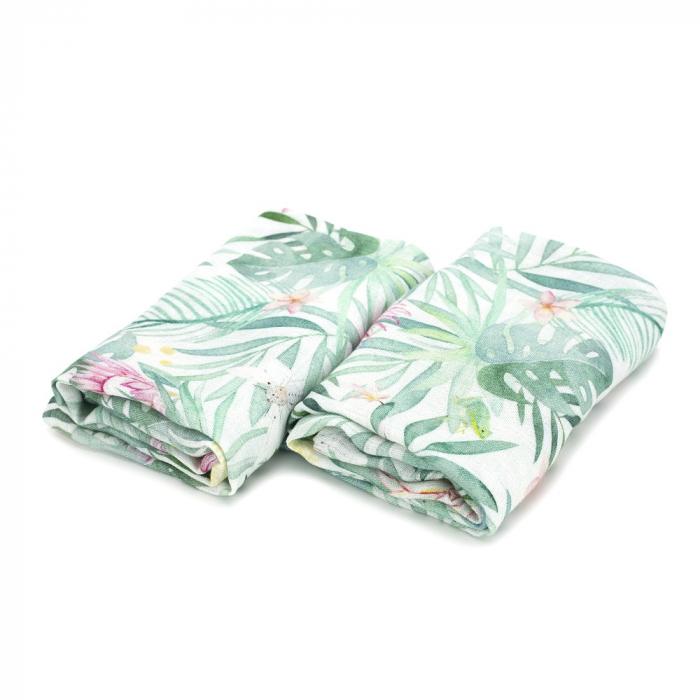 Set Museline din Bambus 100% - Aloha MKZmus3 [0]