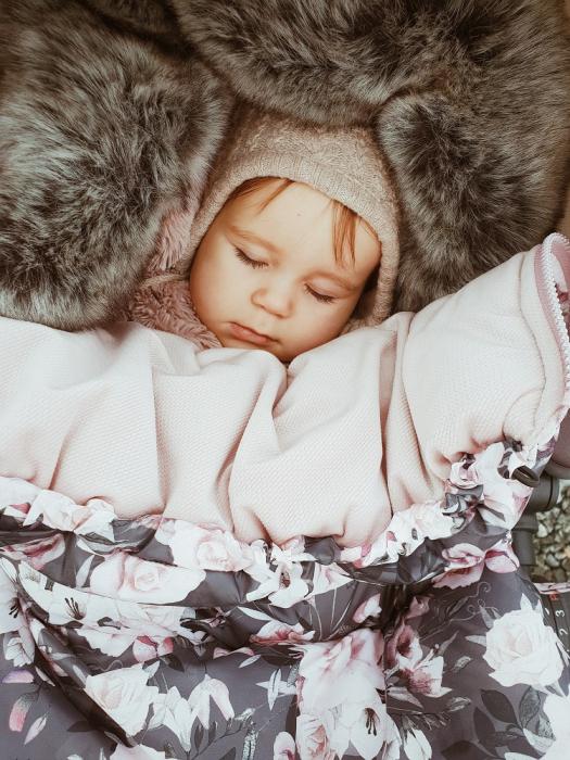 Sac  De Iarna Pentru Carucior (Impermeabil) Bluberry MKZ312 [1]