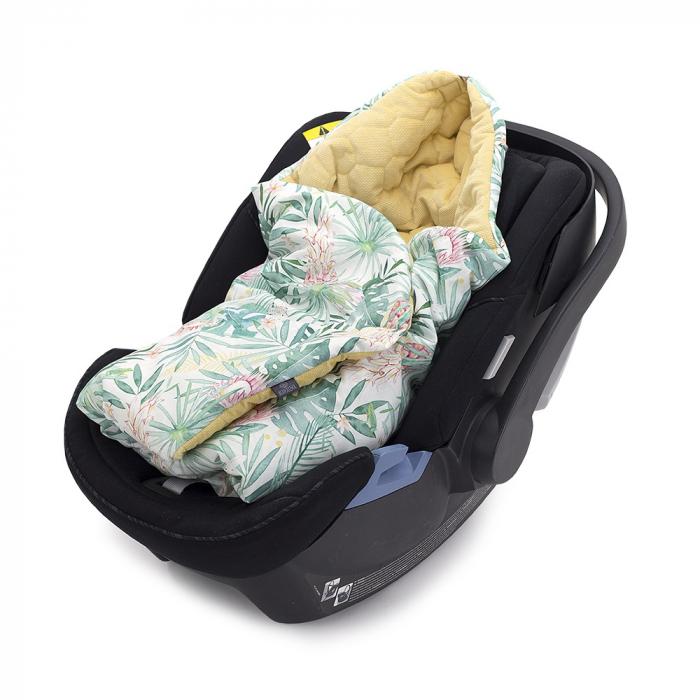 Paturica Bebelusi Pentru Scaun Auto Aloha MKZ3456 [0]