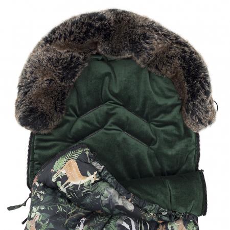 Sac  De Iarna Pentru Carucior (Impermeabil) Bluberry MKZ312 [10]