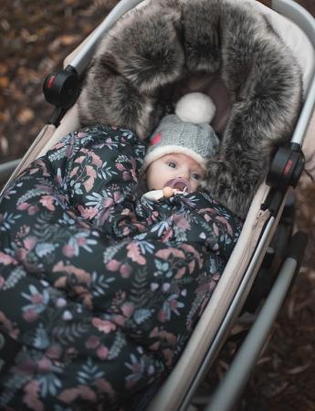 Sac  De Iarna Pentru Carucior (Impermeabil) Bluberry MKZ312 [2]