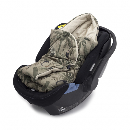 Paturica Bebelusi Pentru Scaun Auto Monkeys MKZ2576 [0]