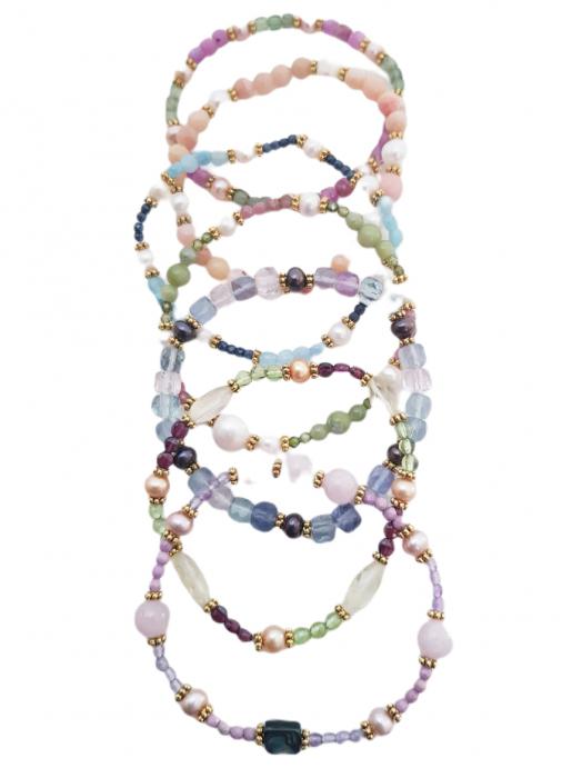 Brățara argint opal roz [4]