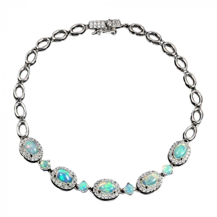 Bratara argint opal natural [0]