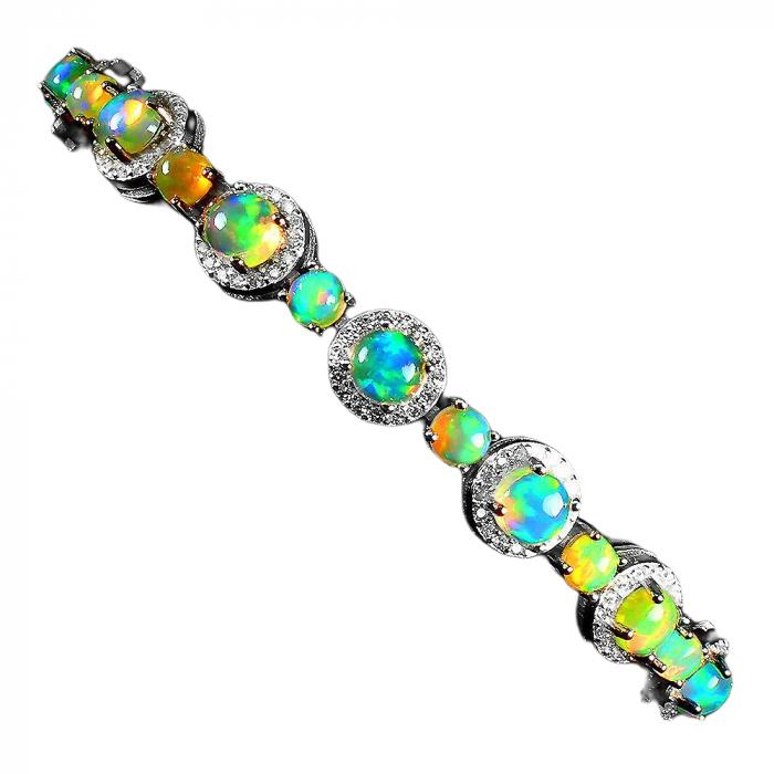 Bratara argint opal [1]
