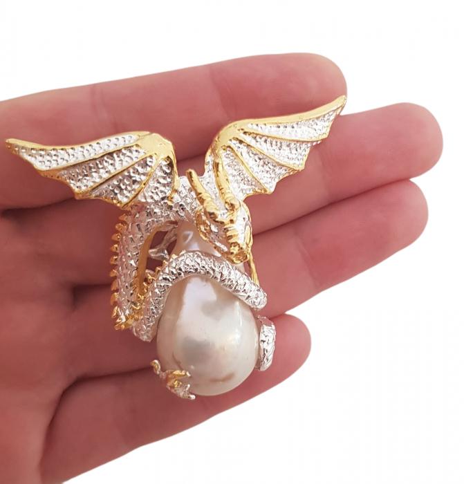 Pandantiv argint perla naturala [2]
