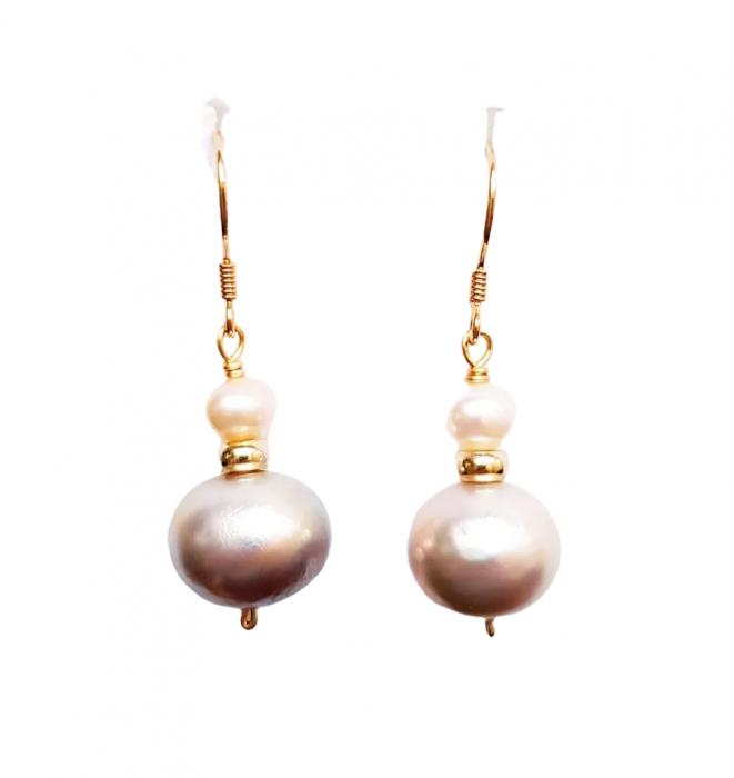Cercei Argint cu perle [0]