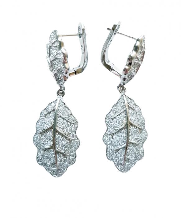 Cercei Argint cubic zirconia [0]