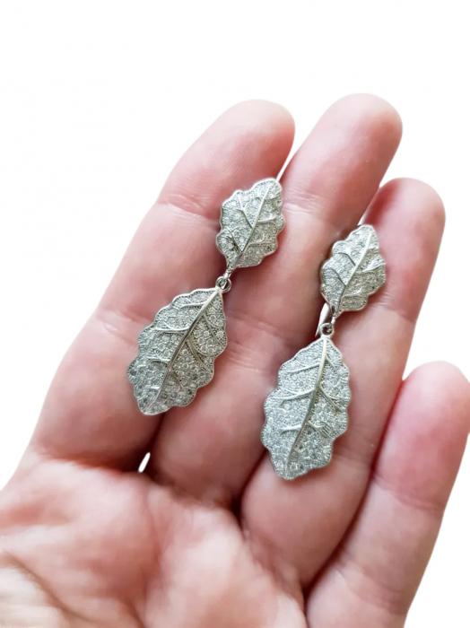 Cercei Argint cubic zirconia [1]