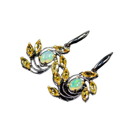 Cercei argint opal [1]