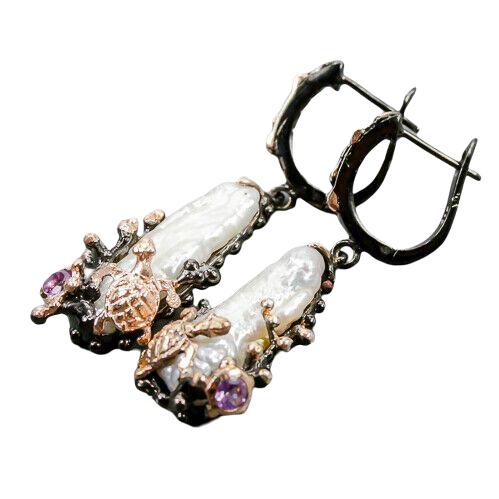 Cercei argint perla baroca [1]