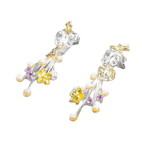 Cercei argint perle naturale [1]