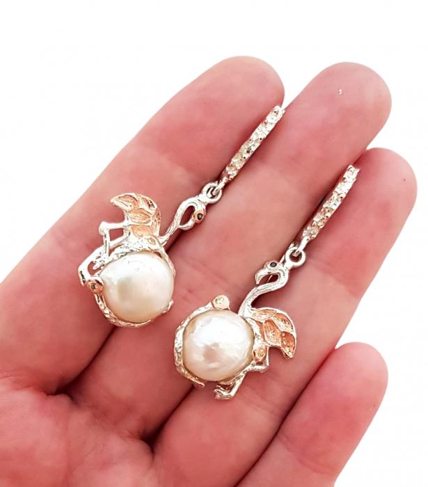 Cercei argint perle [1]