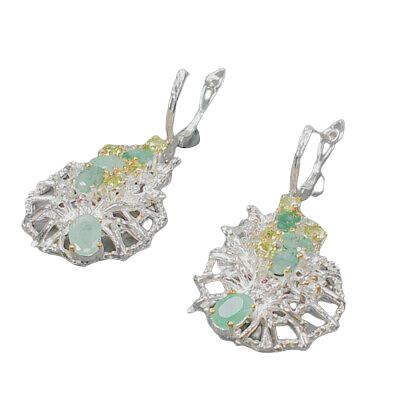 Cercei argint smarald [1]