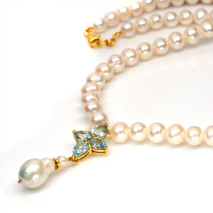 Colier argint perle [1]