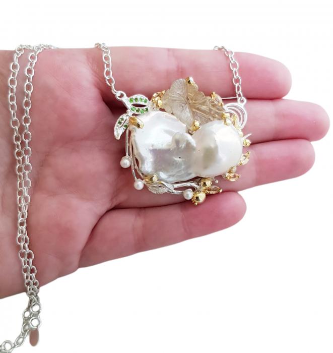 Colier perla baroca [3]
