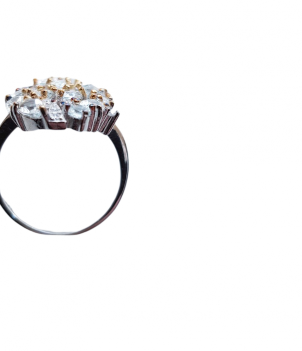 Inel argint acvamarin [4]