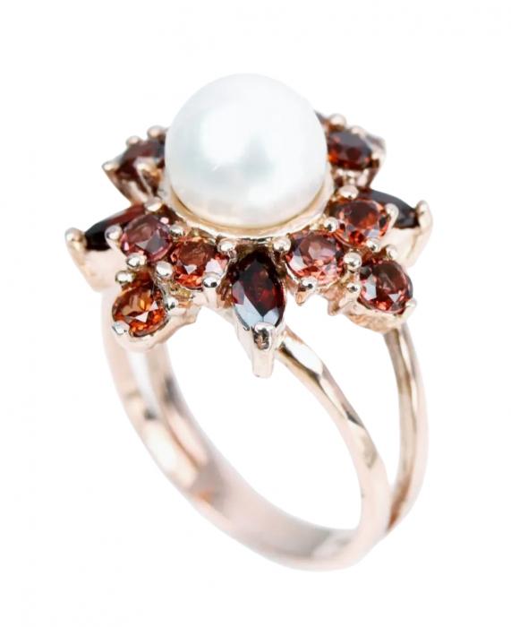 Inel argint cu perla naturala [3]