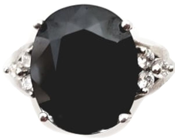 Inel Argint cu pietre semipretioase spinel negru [0]