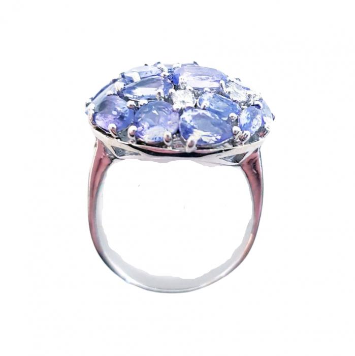 Inel argint cu tanzanit [1]