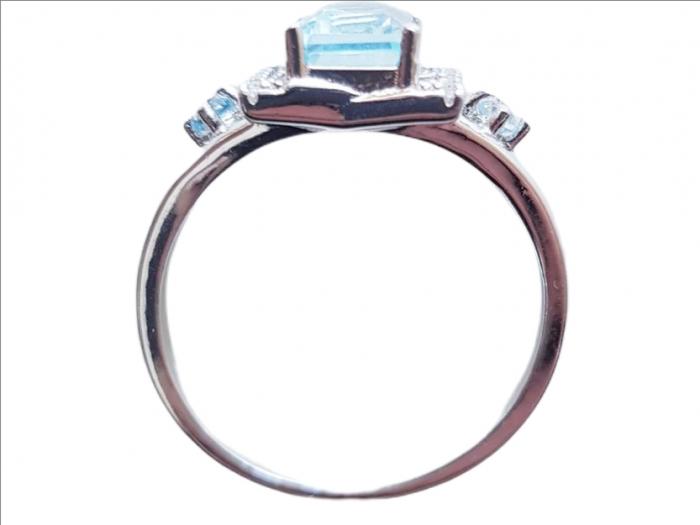 Inel argint cu topaz [1]
