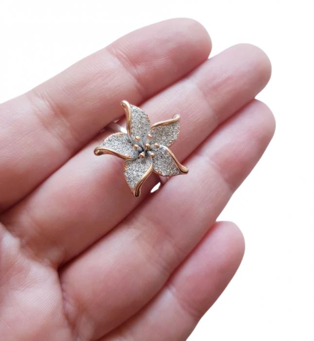 Inel argint cubic zirconia [2]