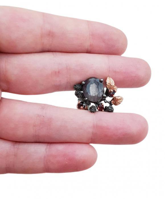 Inel argint fluorit [2]