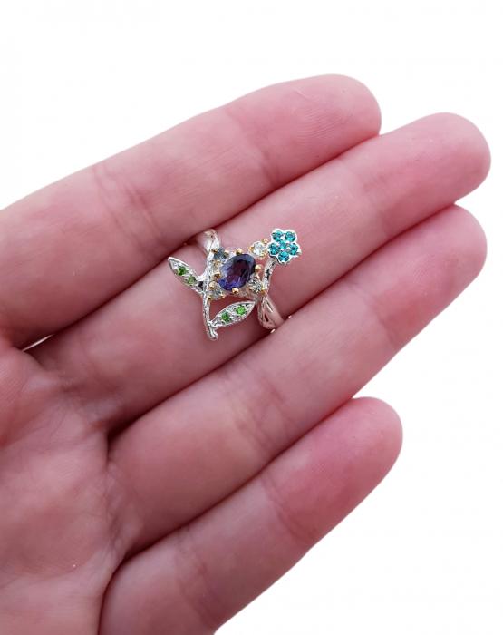Inel argint iolit [2]