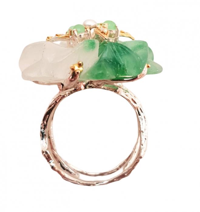 Inel argint jad [1]