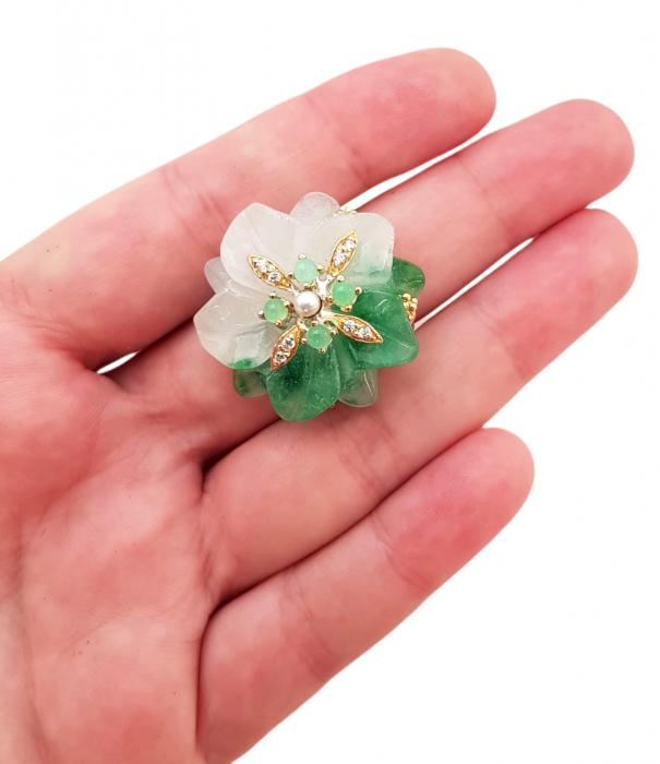 Inel argint jad [2]