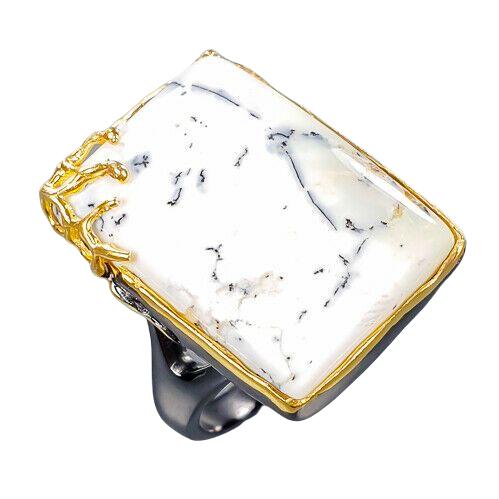 Inel argint opal dentritic [0]