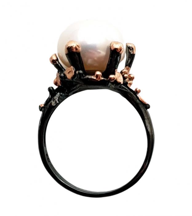 Inel argint perla [1]