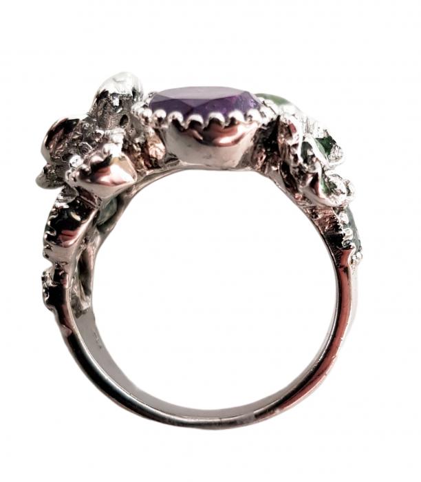 Inel argint pietre semipretioase [1]