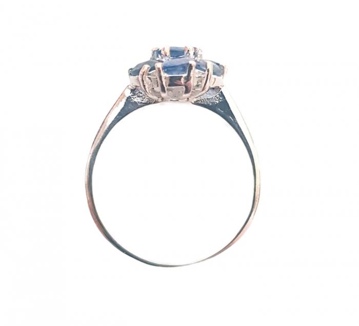 Inel argint safir [1]