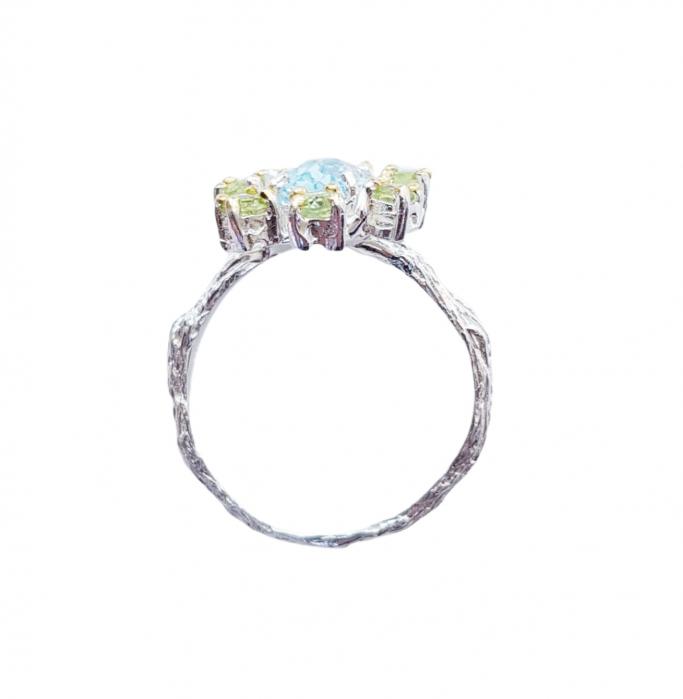 Inel argint topaz [1]