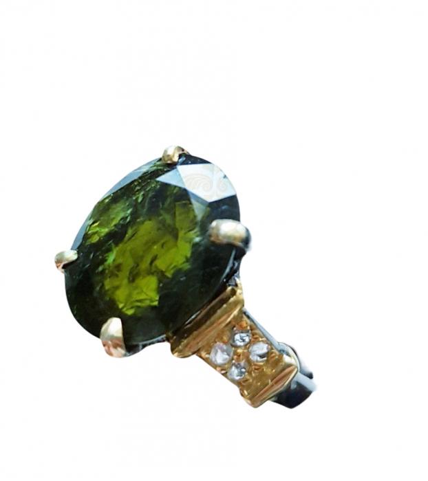 Inel argint turmalina [1]