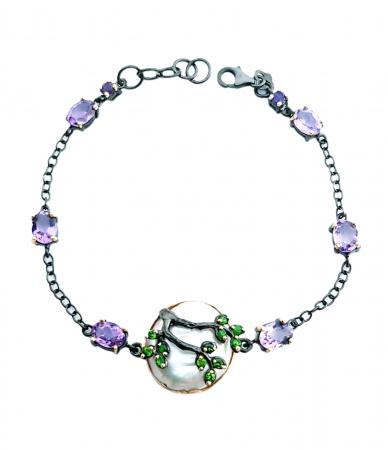 Bratara argint perla baroca [0]