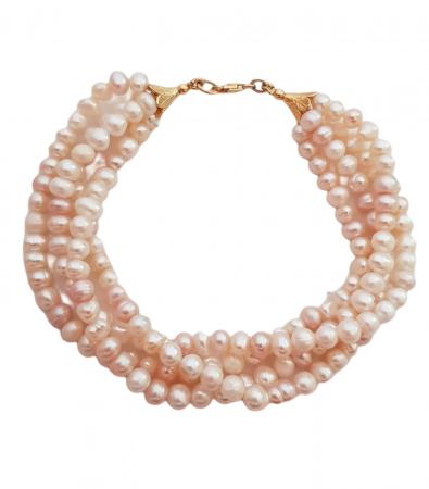 Bratara argint perle naturale [0]
