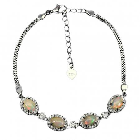 Bratara argint opal [0]