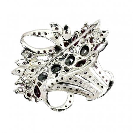 Brosa argint acvamarin [1]