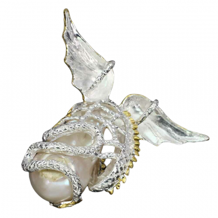 Pandantiv argint perla naturala [1]