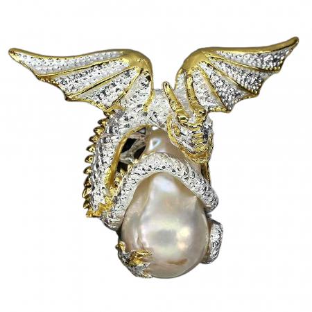 Pandantiv argint perla naturala [0]