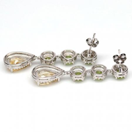 Cercei argint citrin [2]