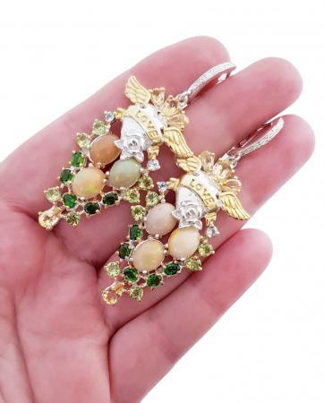 Cercei argint opal [3]