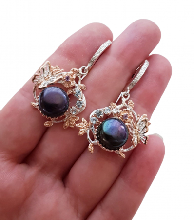 Cercei argint perla [2]